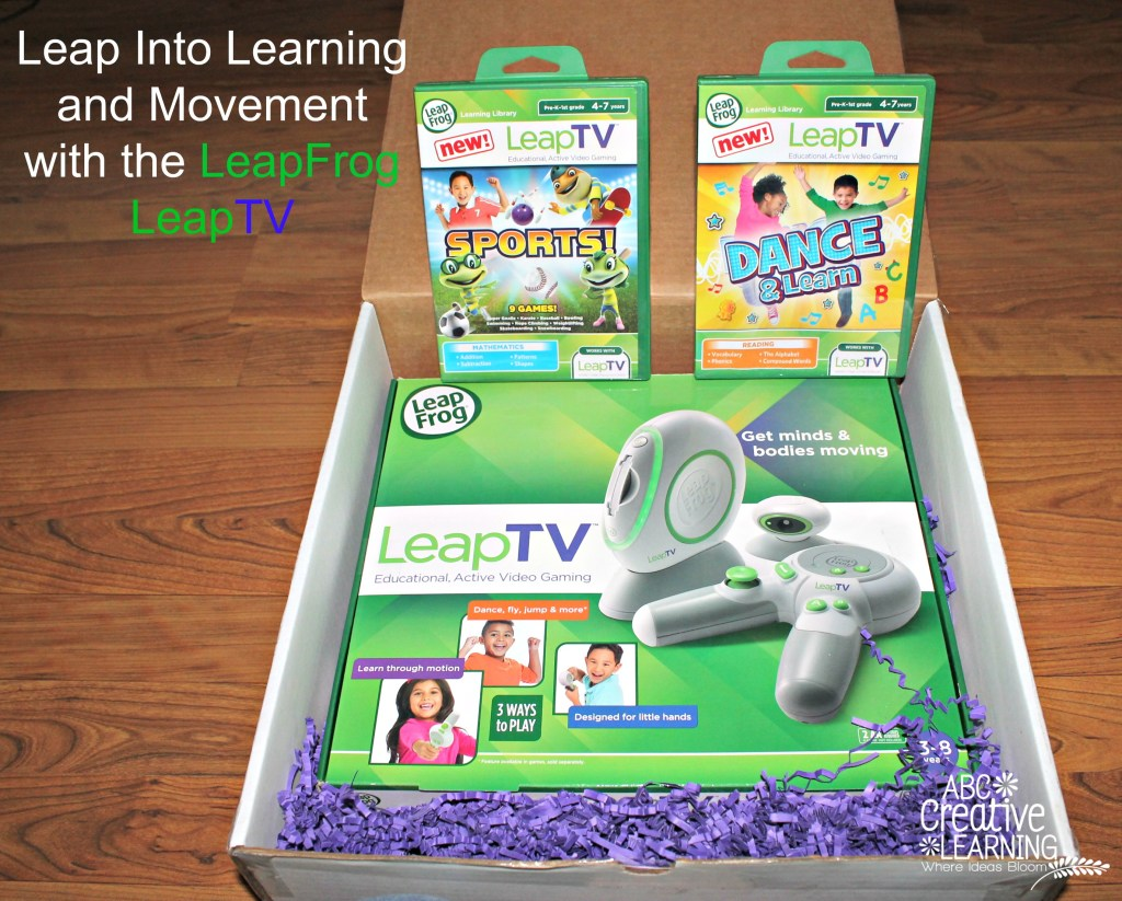 Leap Into Learning and Movement with the LeapFrog LeapTV
