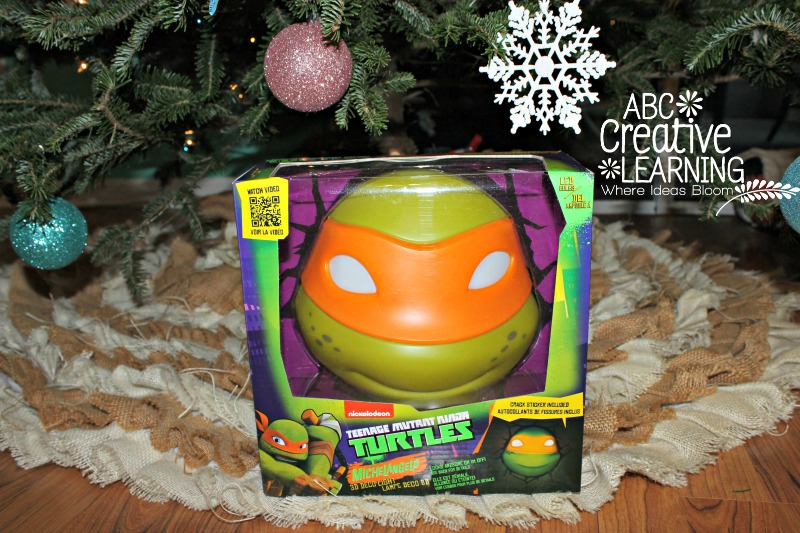 Teenage Mutant Ninja Turtles 3D Deco Light Review and Giveaway