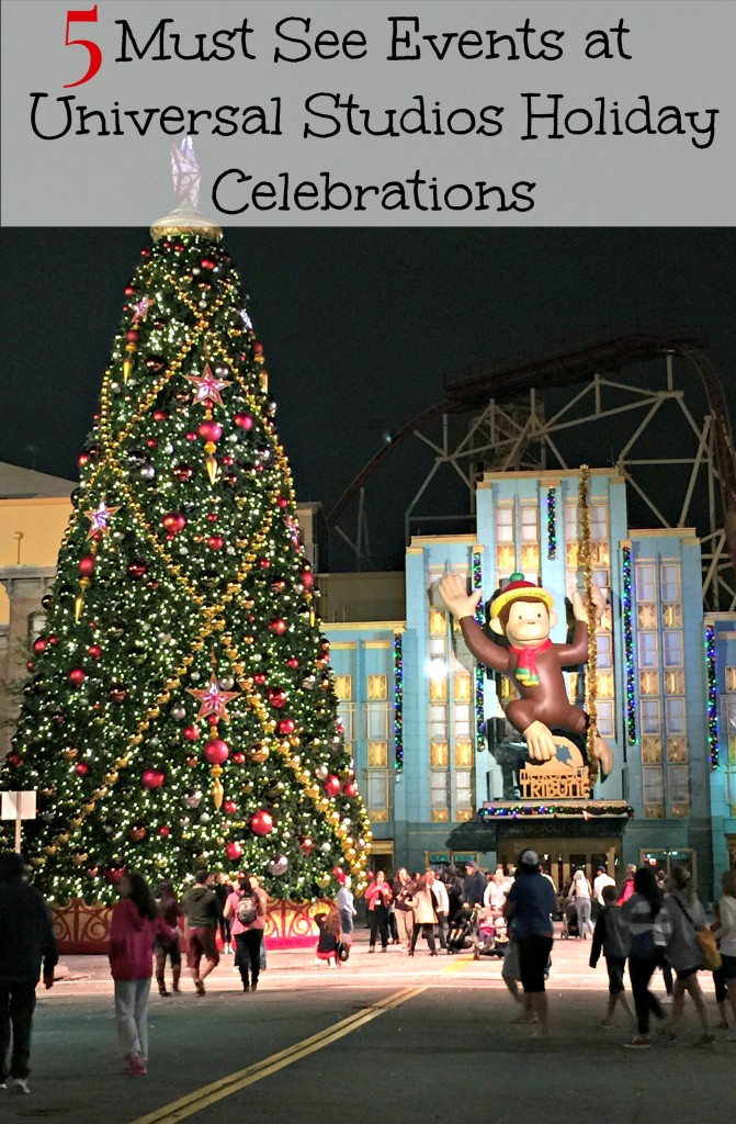 5 Must See Events at Universal Studios Holiday Celebrations and Events