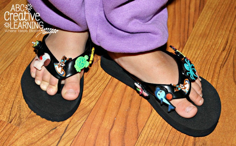 Allowing Kids to Express Themselves with Flip Flops by Mottos