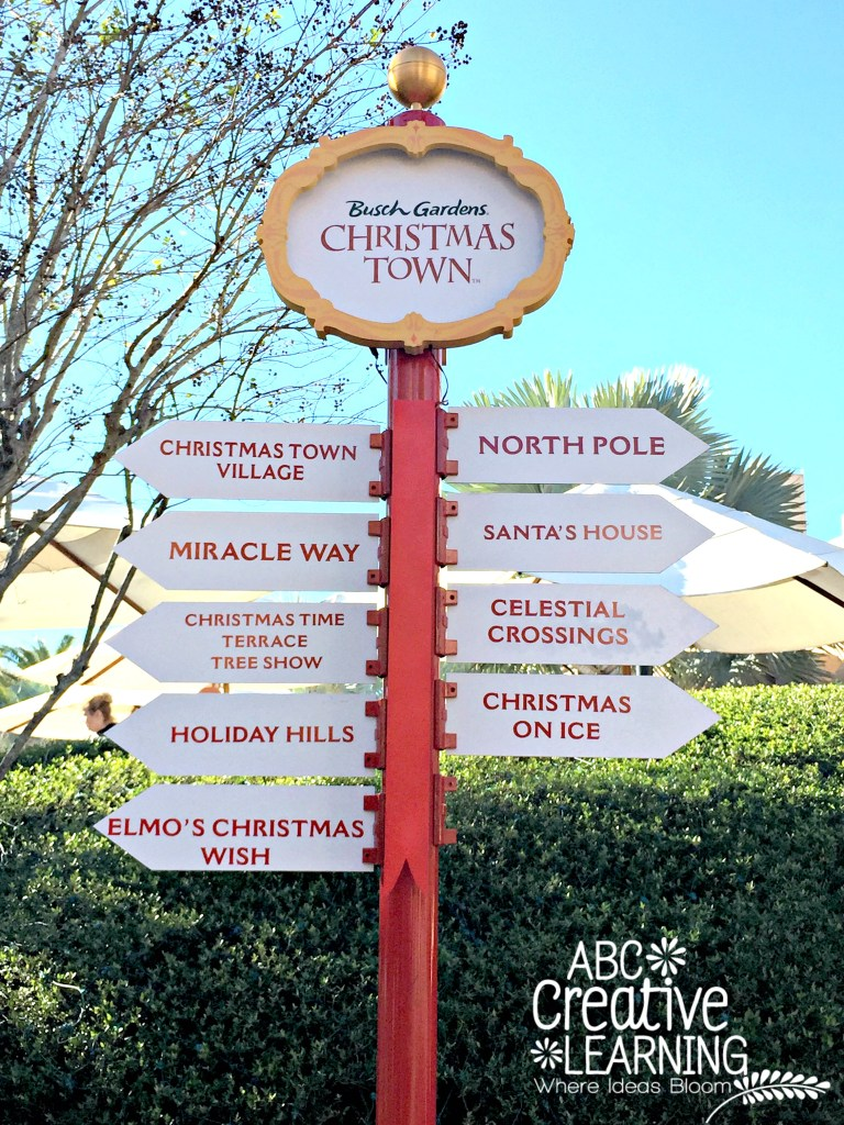 Busch Gardens Christmas Town Holiday Celebrations in Tampa Florida