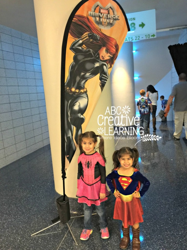 Marvel Universe Live My girls ready for the show