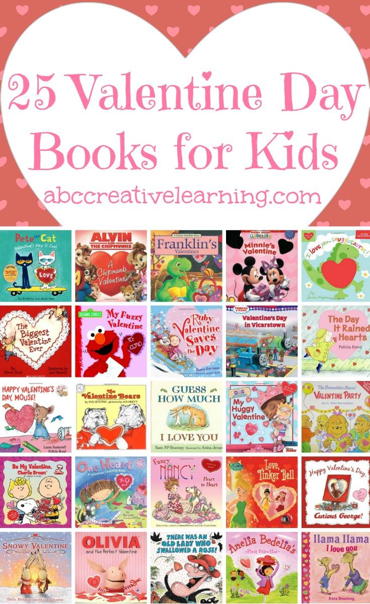 25 Valentine Day Books For Kids