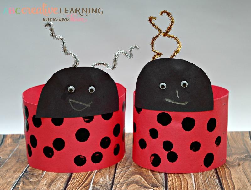 Love Bug Valentine's Day Headband Craft for Kids