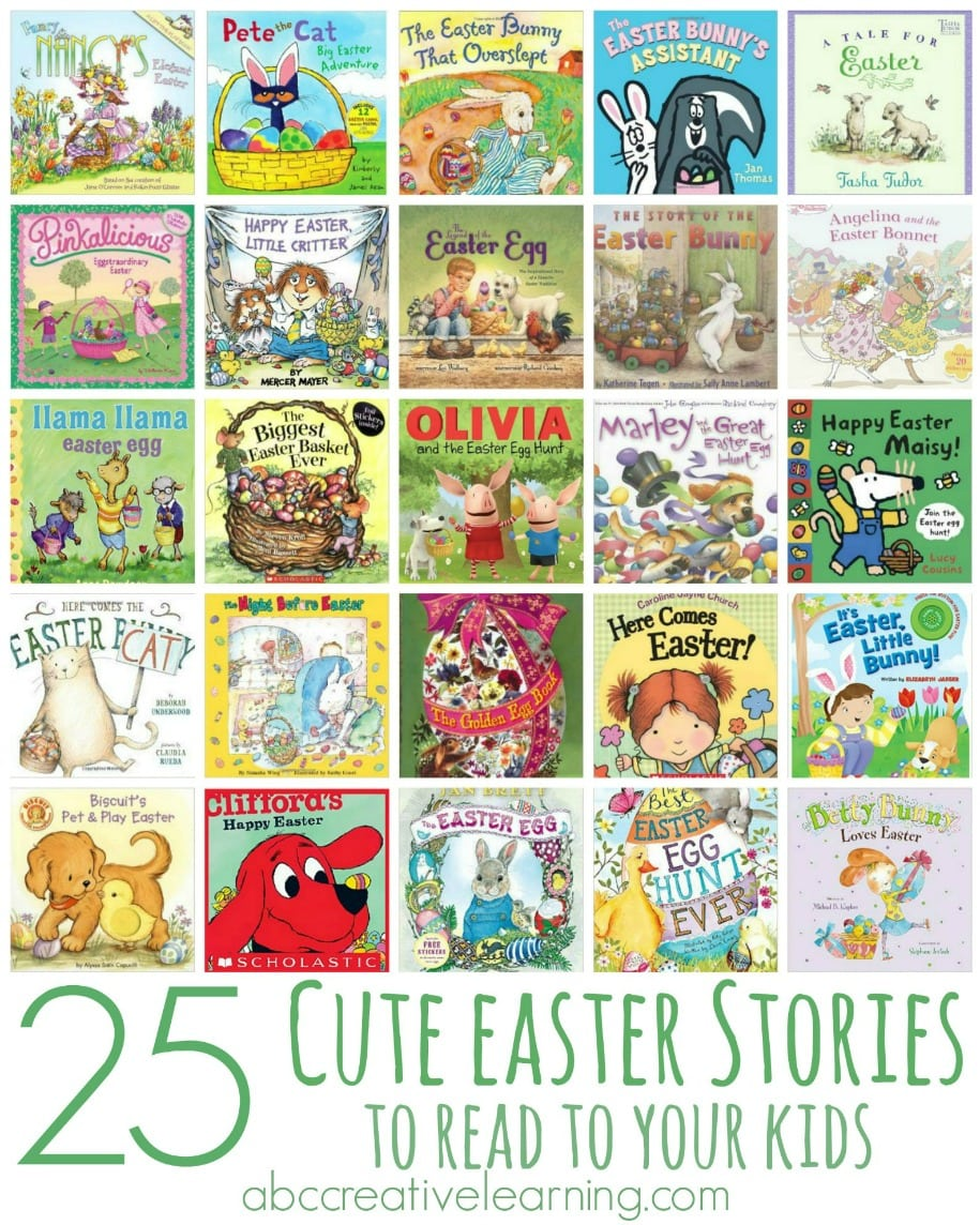 25 Cute Easter Stories to Read to Your Kids - simplytodaylife.com