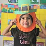 St. Patrick's Day Leprechaun Paper Plate Mask for Kids