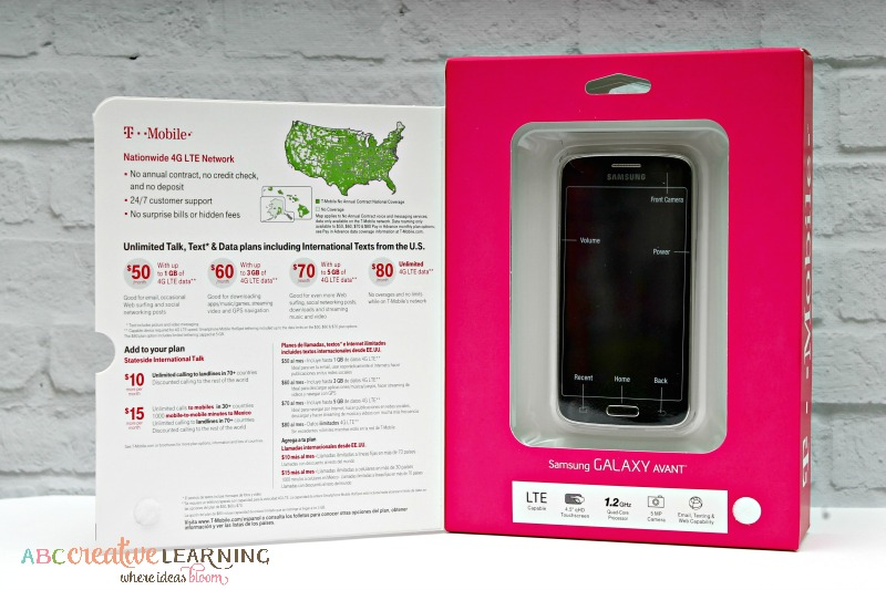 T-Mobile Simply Prepaid™ Perfect for the Entire Family Samsung Galaxy Avant