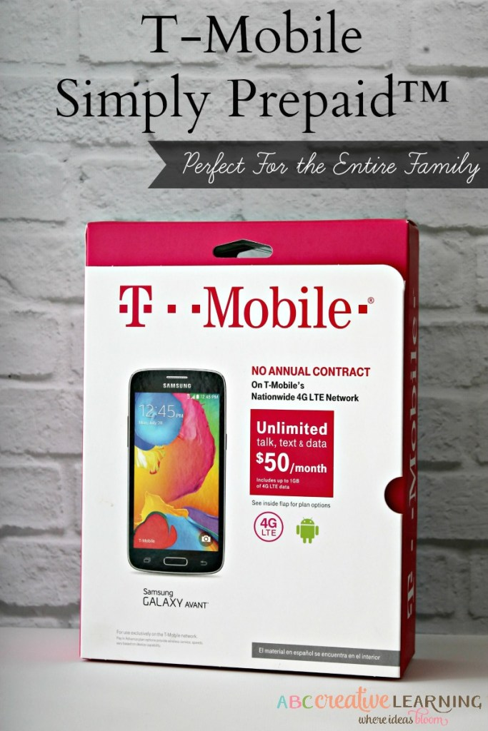 T-Mobile Simply Prepaid™ Perfect for the Entire Family