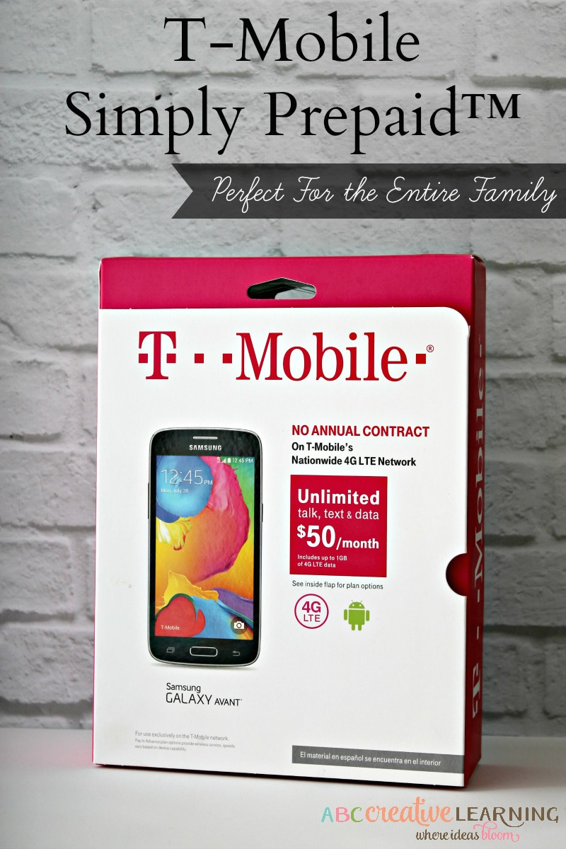 T Mobile Simply Prepaid Perfect For The Entire Family