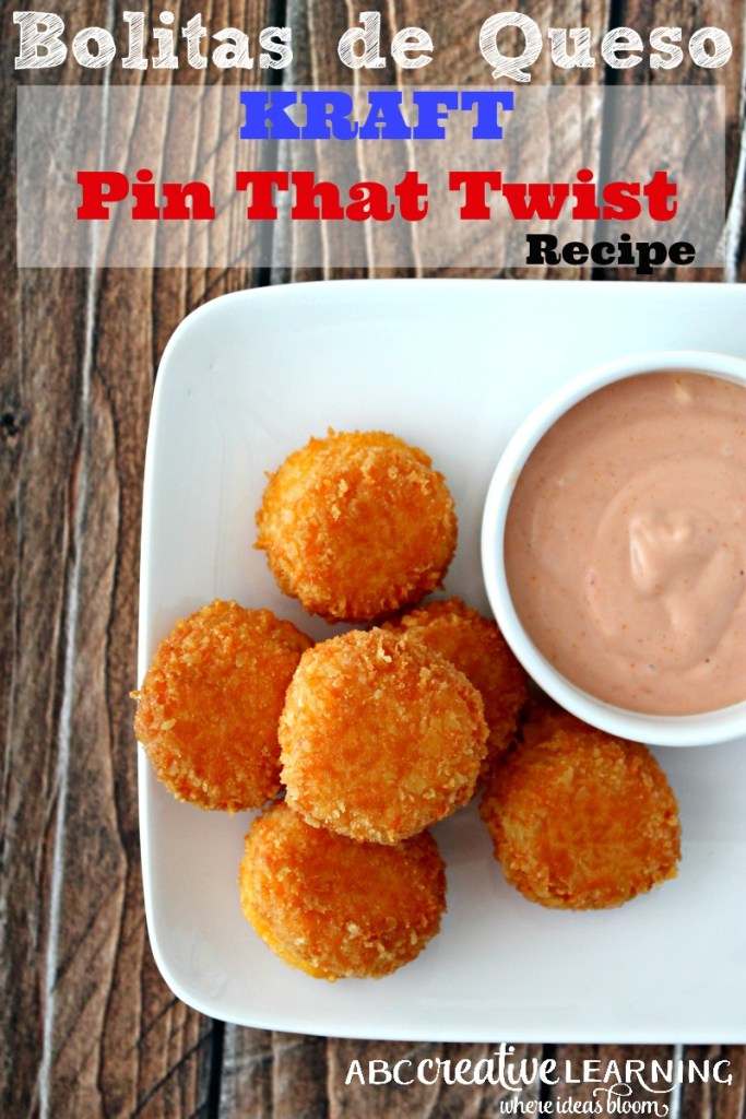 Two Ways Bolitas de Queso Kraft Pin That Twist Recipe with Mayoketchup