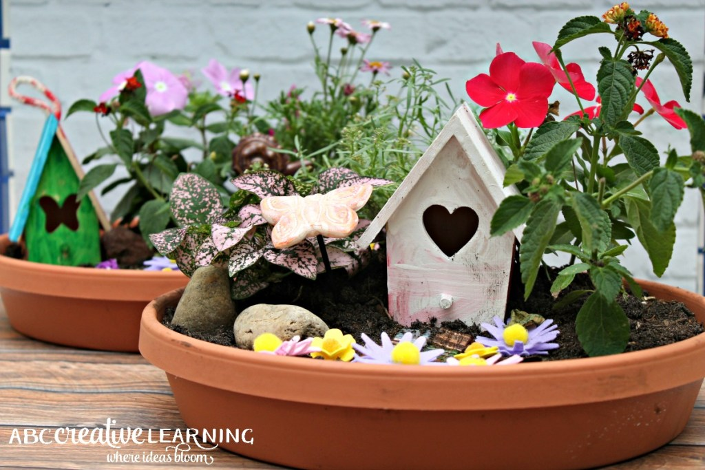 DIY Fairy Garden Inspired by Tinkerbell and Friends Fairy Houses
