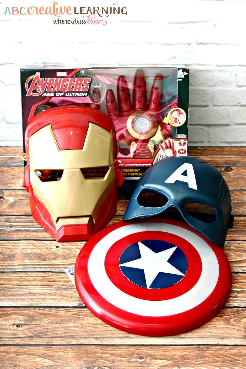 Girls Love MARVEL Avengers In Their Own Special Way Toys Purchased