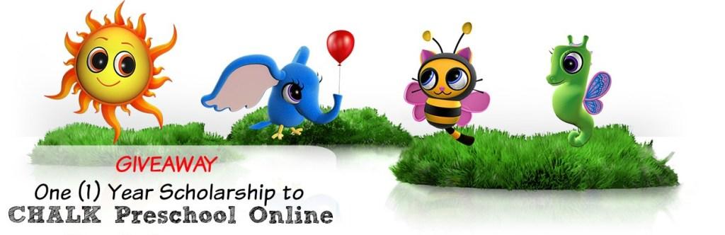 One (1) Year Scholarship to CHALK Preschool Online Giveaway