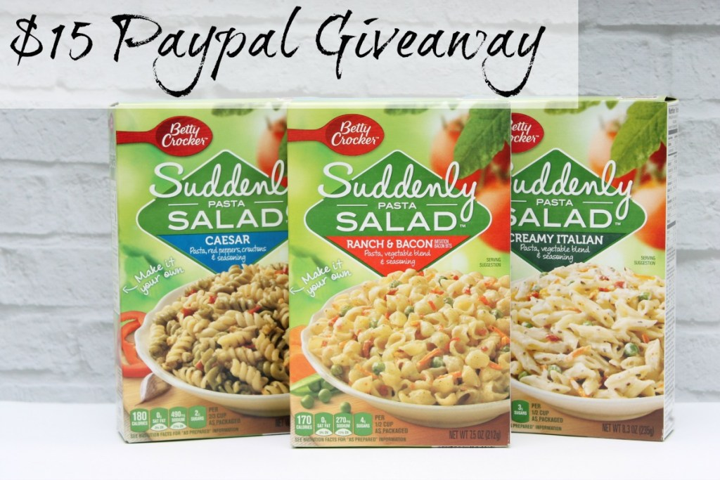 Suddenly Salads Perfect for Summer + Paypal Giveaway #SuddenlySalad Paypal Giveaway