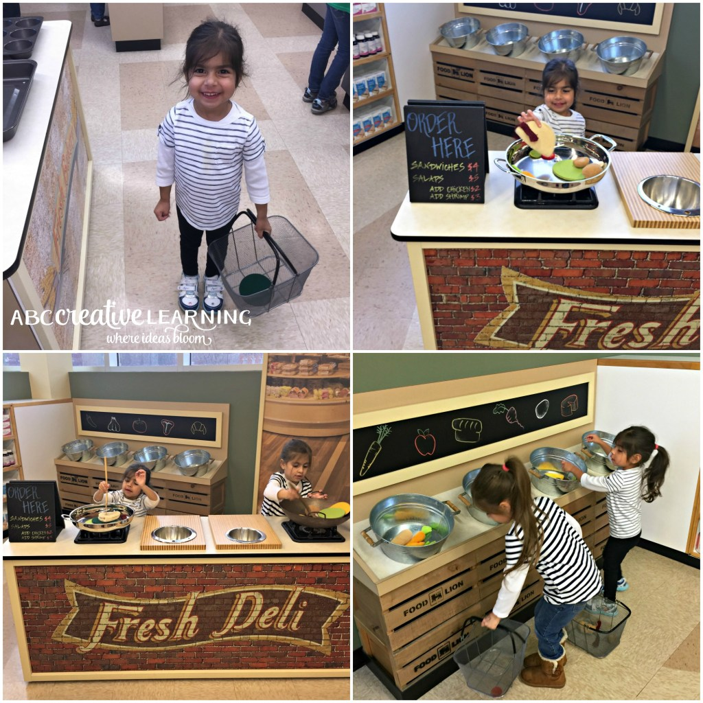 Visiting the Children's Museum of Winston-Salem Lion Supermarket