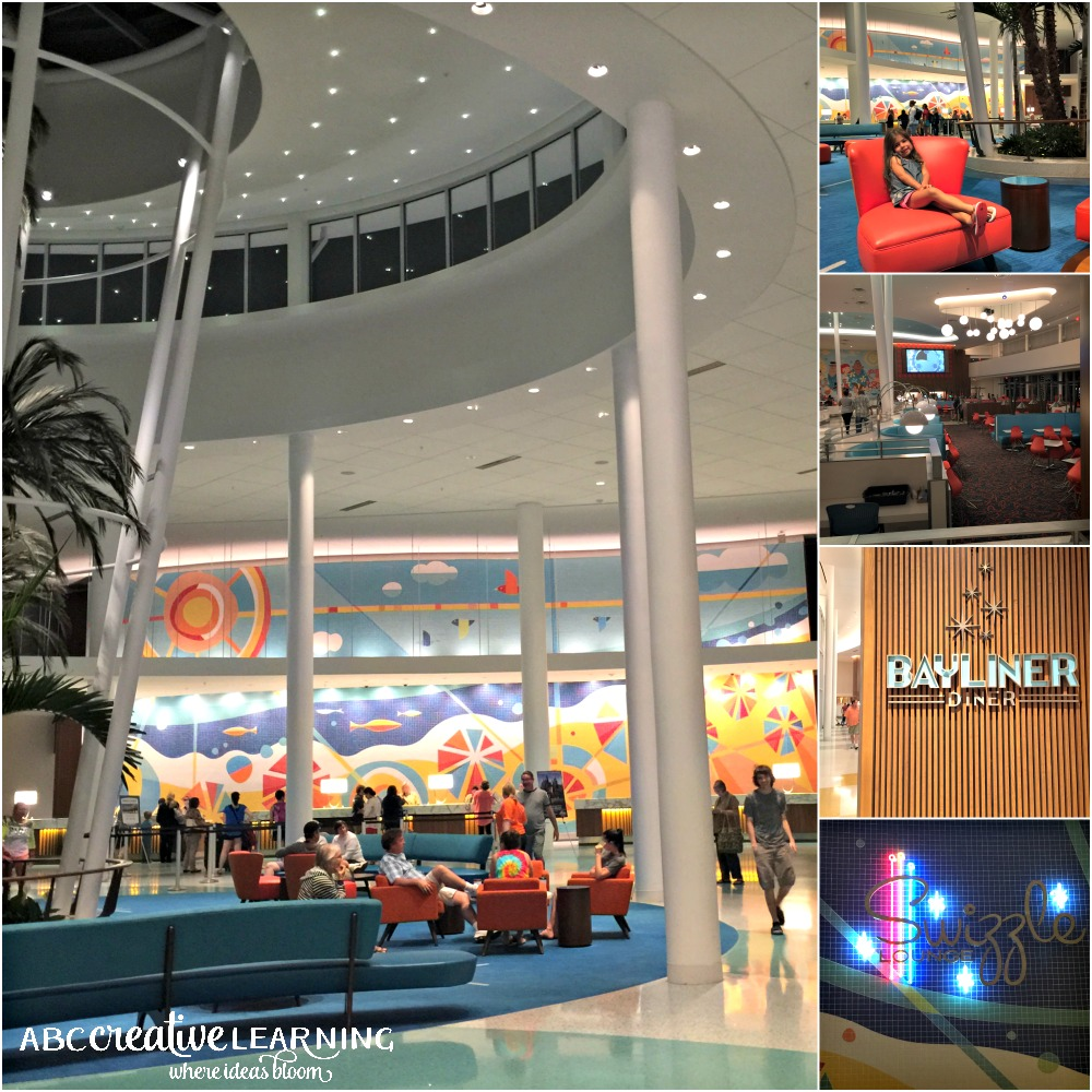 5 Reasons to Stay at Cabana Bay Beach Resort at Universal Orlando Resorts Lobby