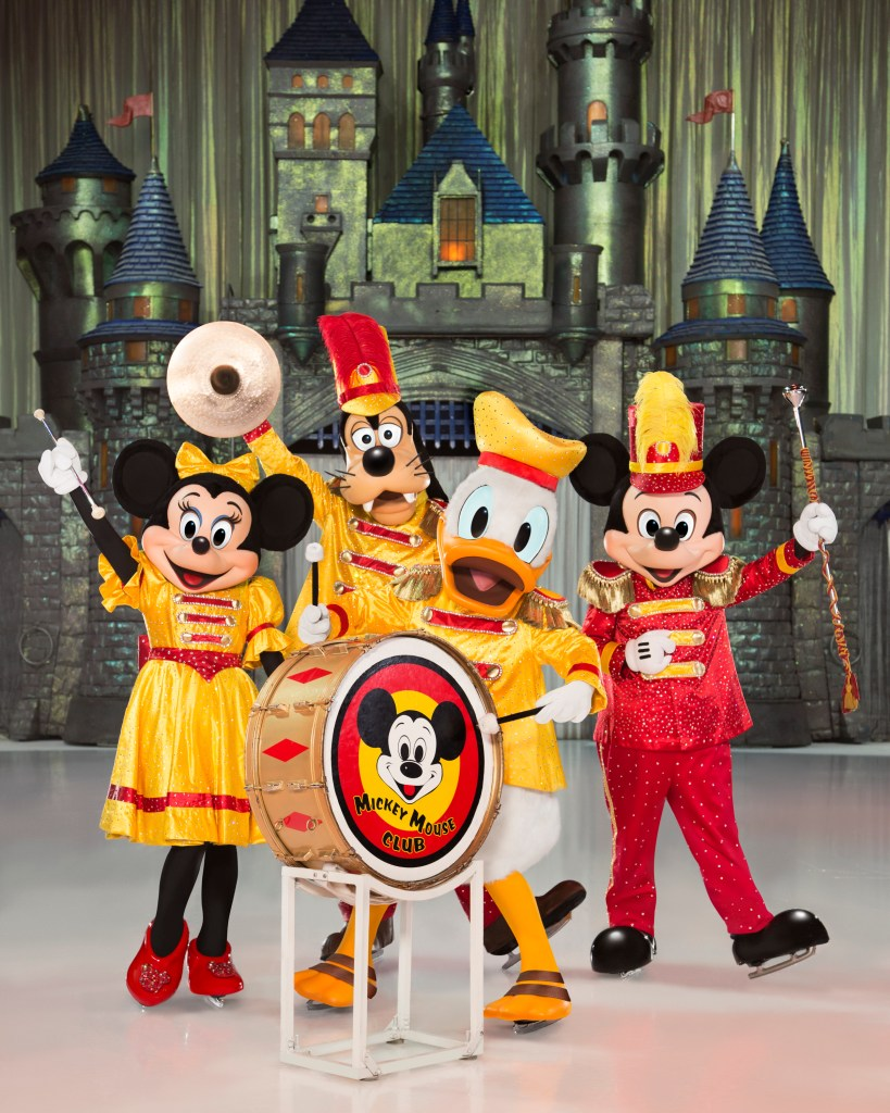 Disney On Ice Celebrates 100 Years of Magic  Minnie, Donald, Goofy, and Mickey