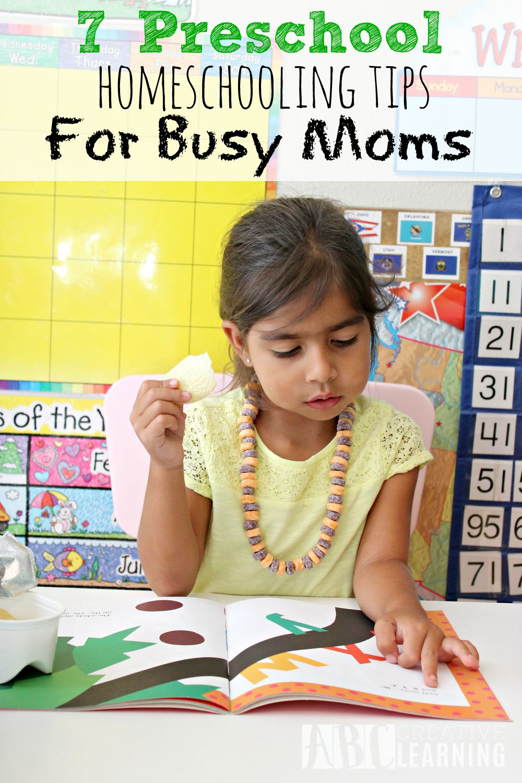 7 Preschool Homeschooling Tips For Busy Moms