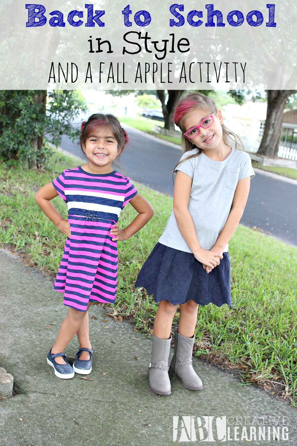 Back to School in Style and a Fall Apple Activity
