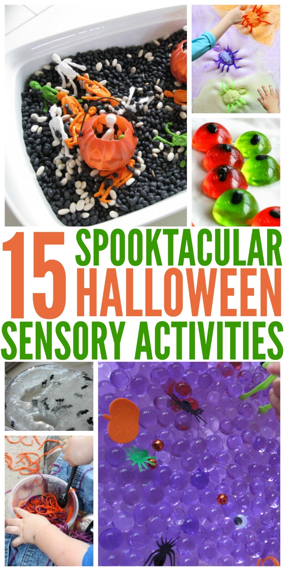 Halloween Sensory Activities for Kids - Simply Today Life