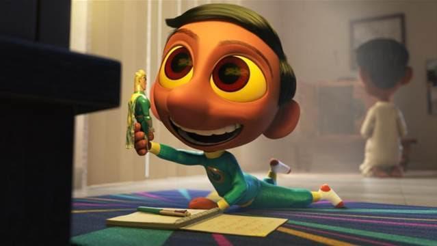 Disney Pixar's Sanjay's Super Team Short Film #SanjaysSuperTeam 1