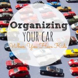 Organizing Your Car When You Have Kids
