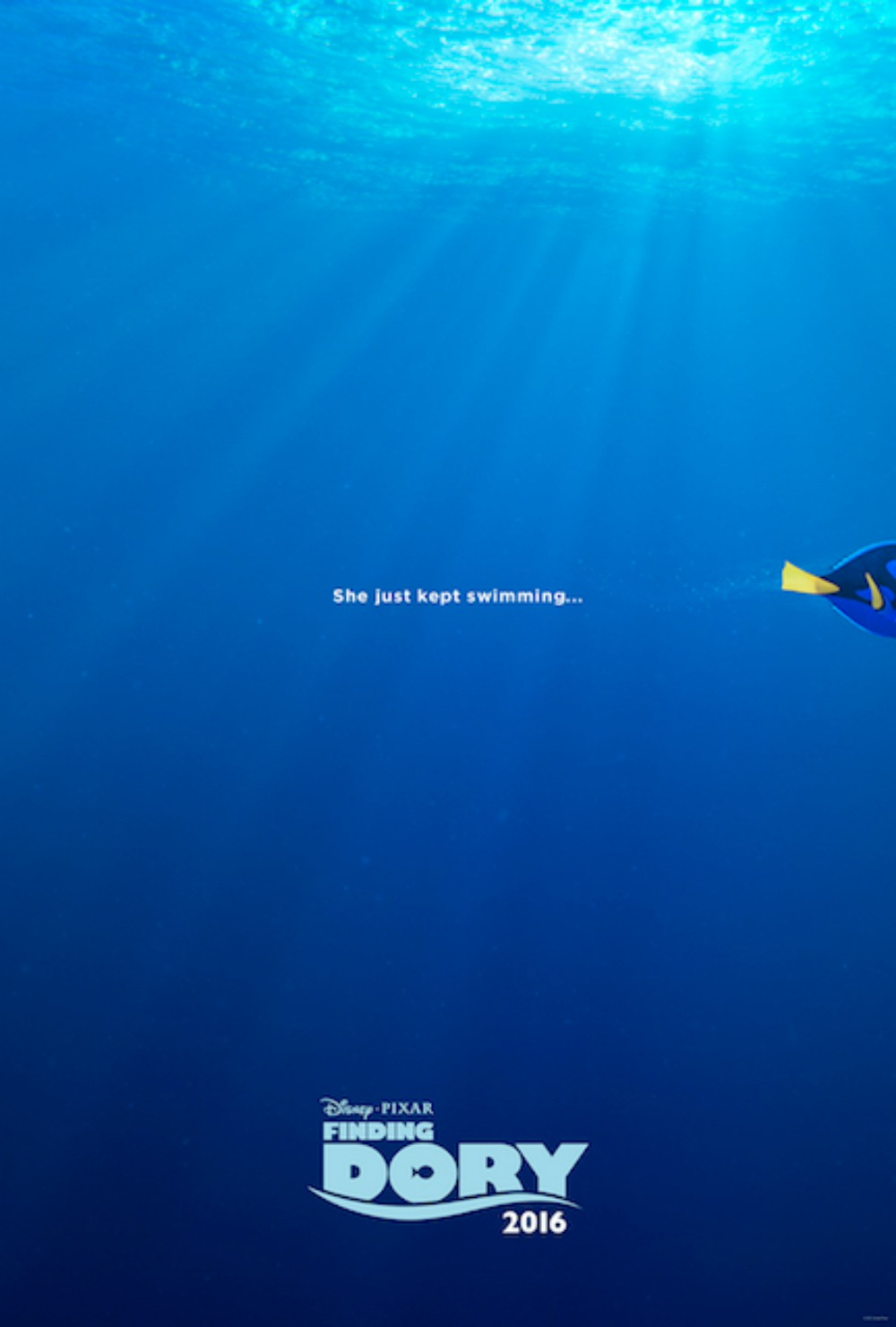 Finding Dory Trailer and Poster #FindingDory