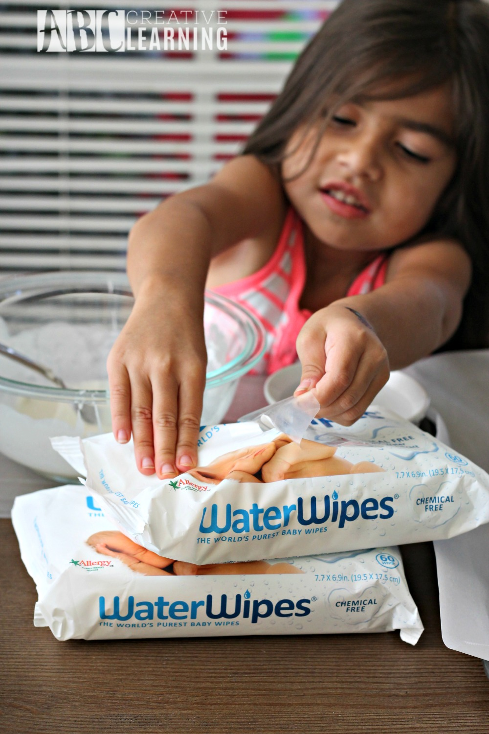 Creating Holiday Memories without the Mess Baby Wipes