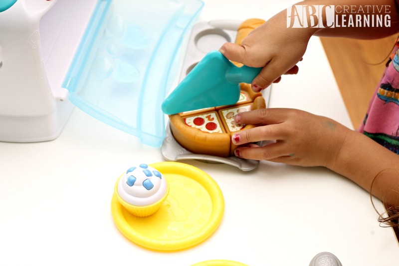 Learning Through Play with the LeapFrog Number Lovin' Oven fine motor