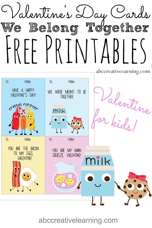 Valentine Basket for Kids and Free Valentine Card Printable
