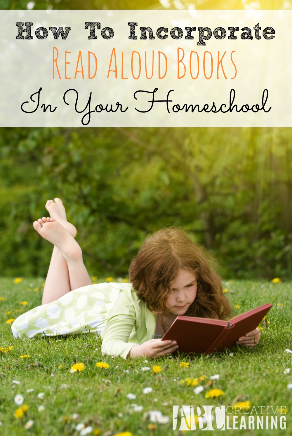 How to Incorporate Read Aloud Books in Your Homeschool