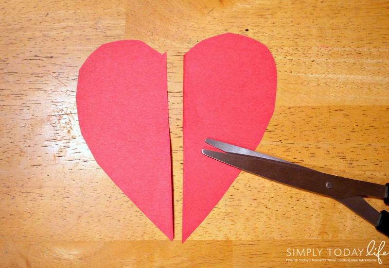 DIY Valentine's Day Owl Heart Card