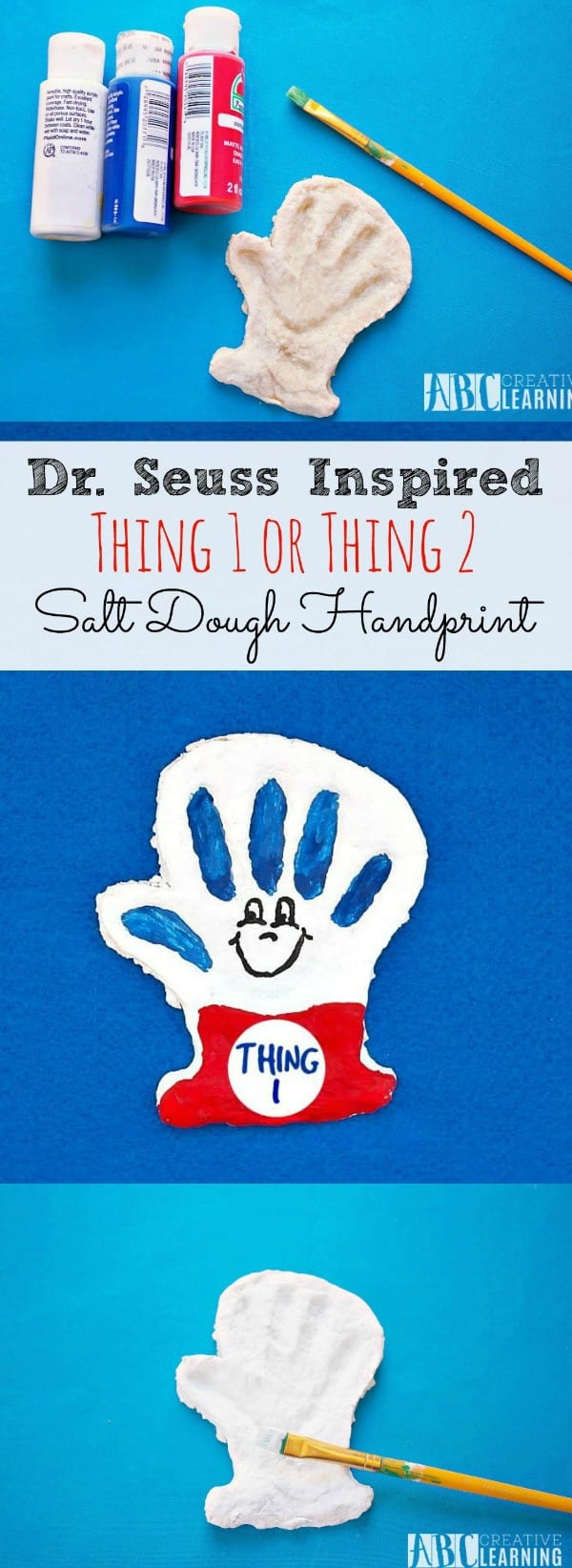 Thing 1 and Thing 2 Craft Dr. Seuss