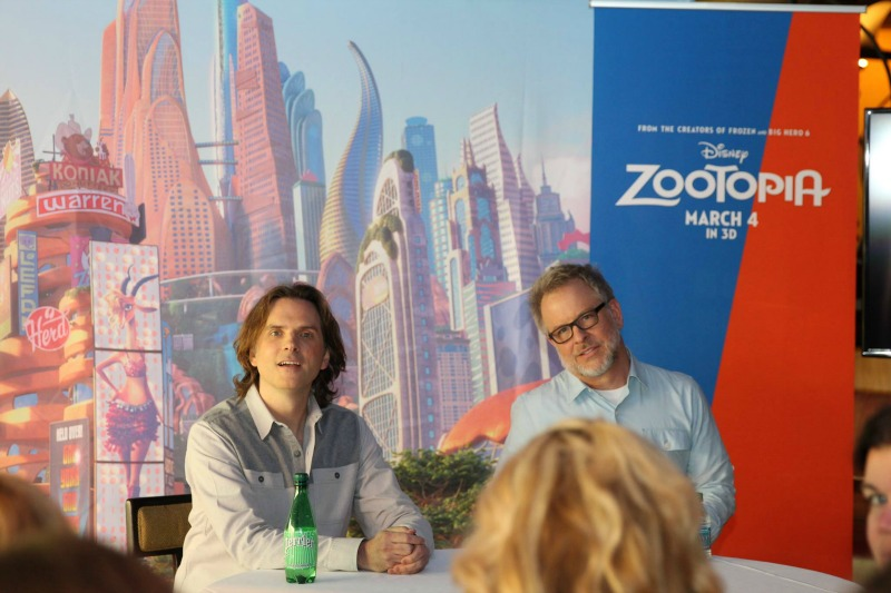 Exclusive Interviews with Directors Byron Howard and Rich Moore #ZootopiaEvent Both
