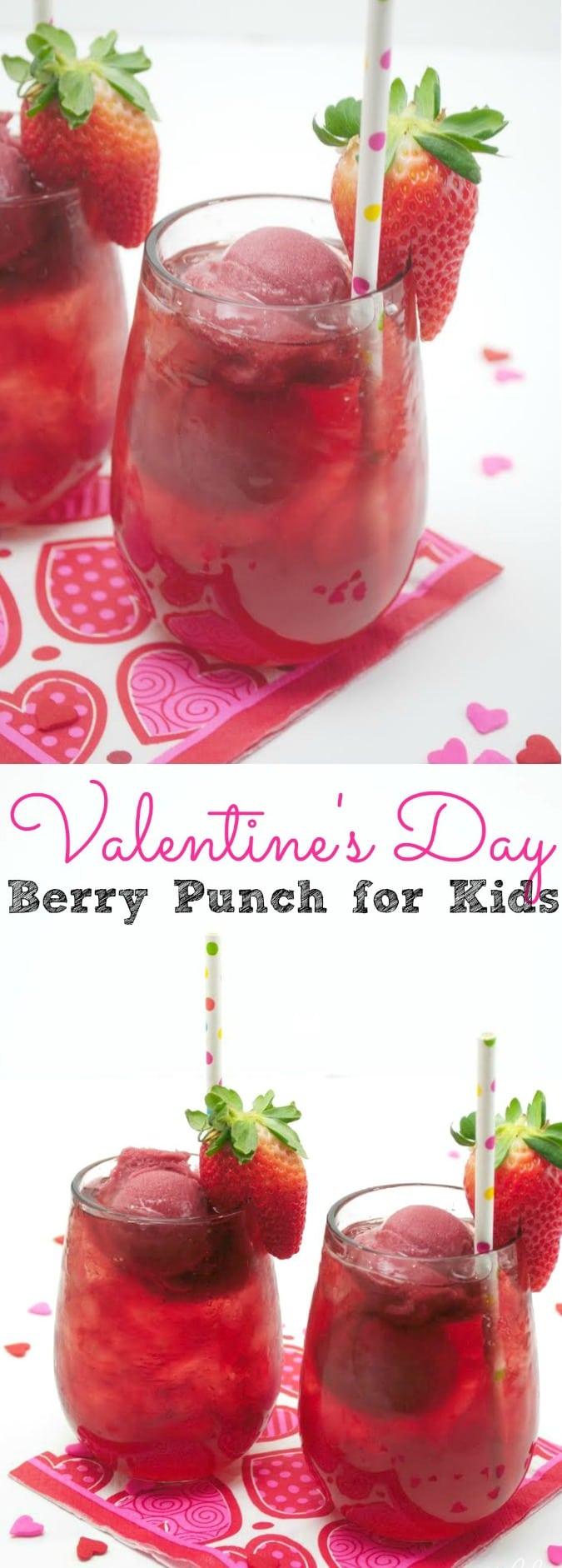 Valentine's Day Punch Recipe - simplytodaylife.com