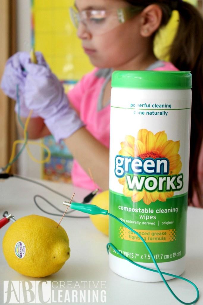 Lemon Battery StemBox For Girls Green Works