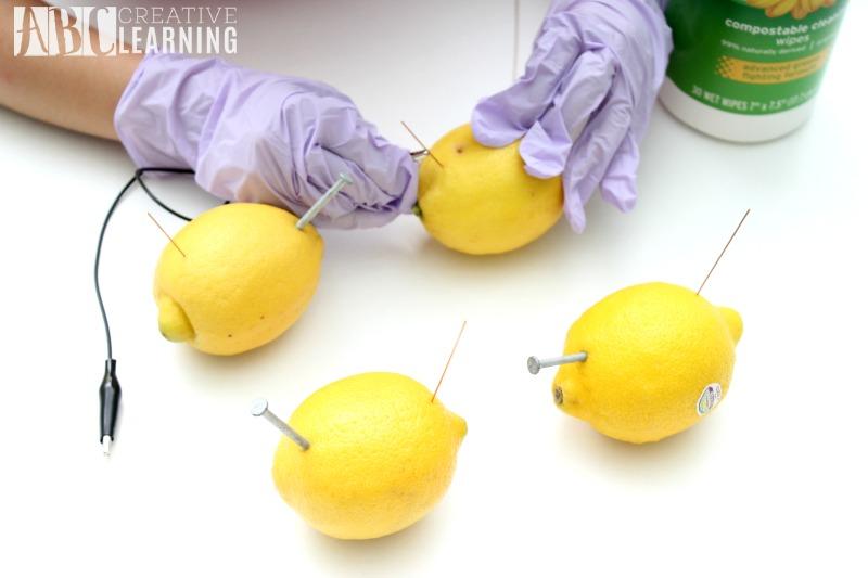 Lemon Battery StemBox For Girls Lemons