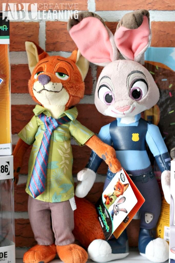 Wild About New Disney's Zootopia Product Line Plush