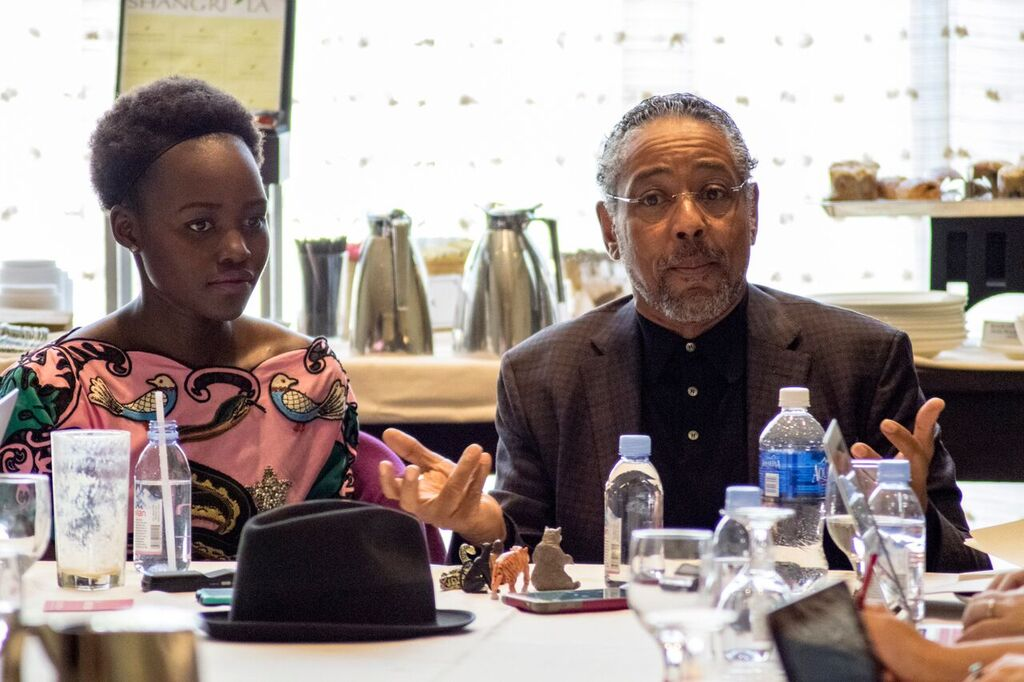 Exclusive Interview with Lupita Nyong'o and Giancarlo Esposito #JungleBookEvent