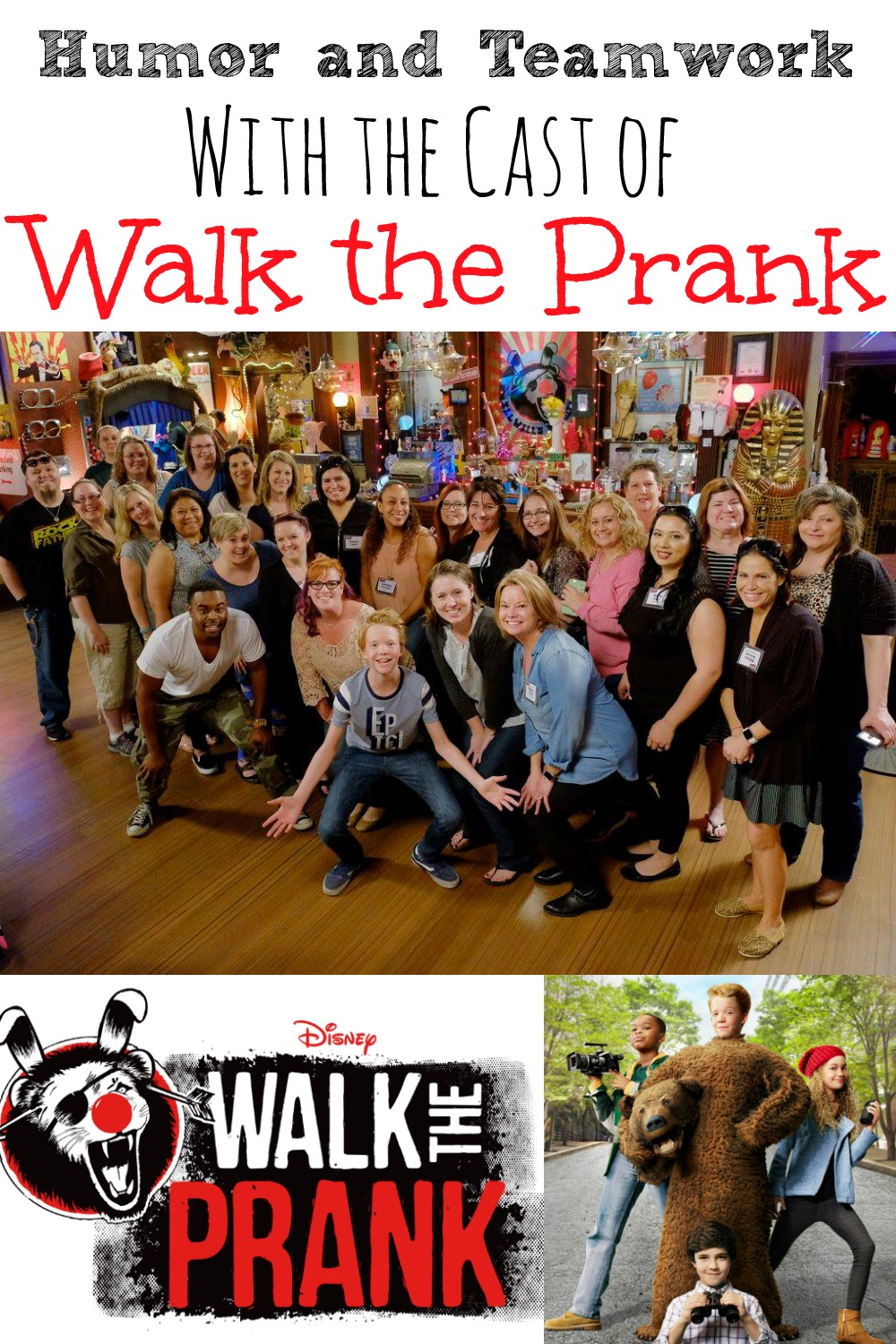 Humor and Teamwork With the Cast of Walk the Prank