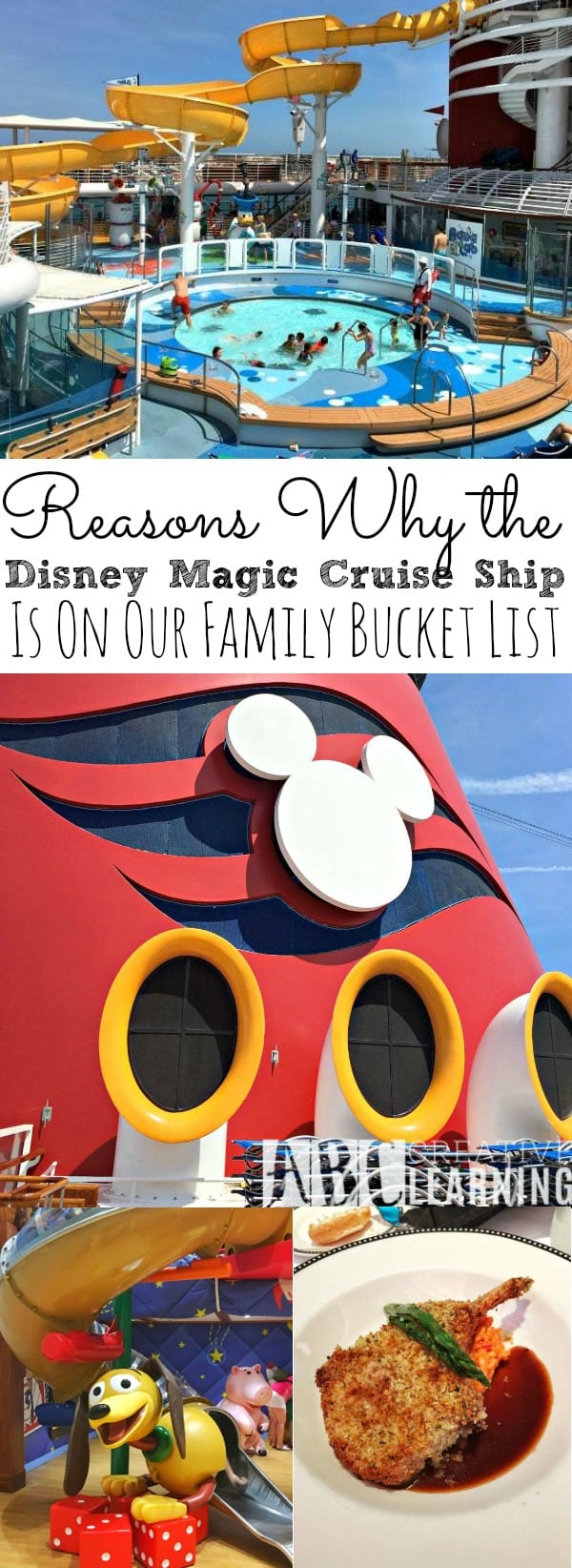 Does your family have a bucket list? So do we! Here are our 5 Reasons Why the Disney Magic Cruise Ship Is On Our Family Bucket List! - simplytodaylife.com #disneycruise #bucketlist #familytravels #familycruise #disney #cruise #disneymagiccruise