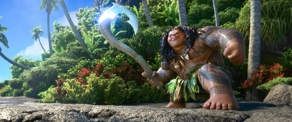 Disney's MOANA Trailer and Poster SQ