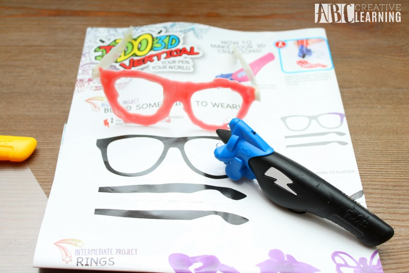 Art Creativity with the IDO3D Glasses