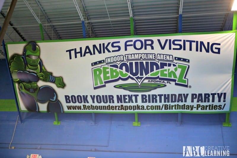 Birthday Fun Celebration at Rebounderz Apopka book