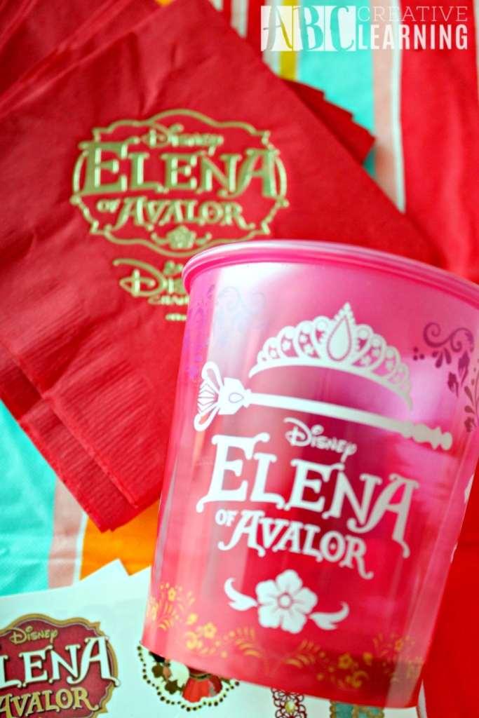 Disney's Elena of Avalor Royal Party Celebration Cups