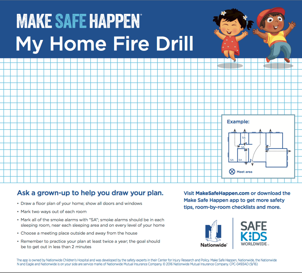 Keeping Your Family Safe With Home Fire Drill Day