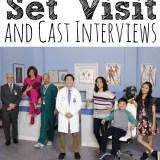 Dr. Ken Set Visit and Cast Interviews
