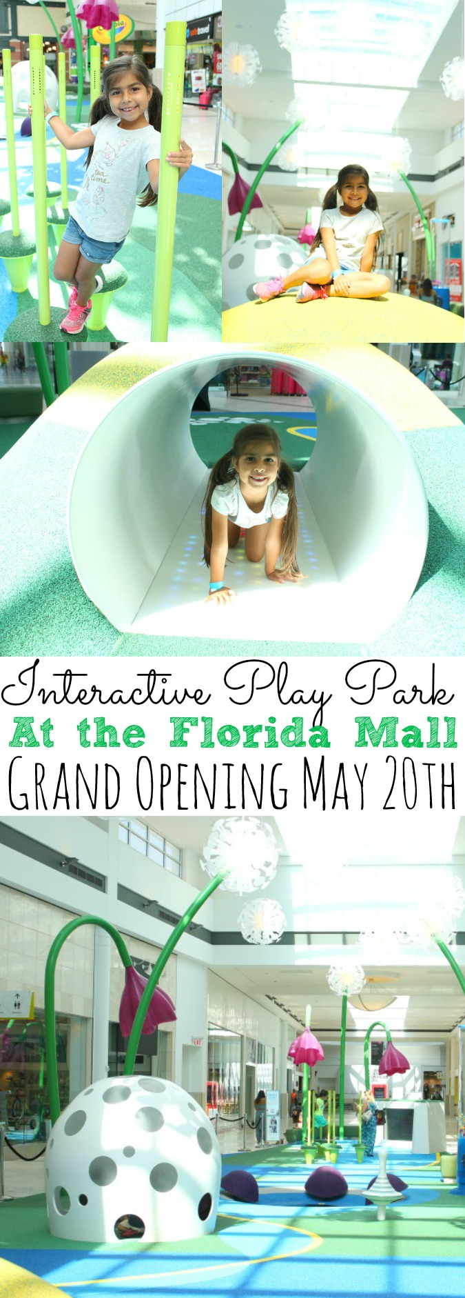 New Interactive Play Park At The Florida Mall | Grand Opening May 20th #PlayPark #ShopFloridaMall - simplytodaylife.com