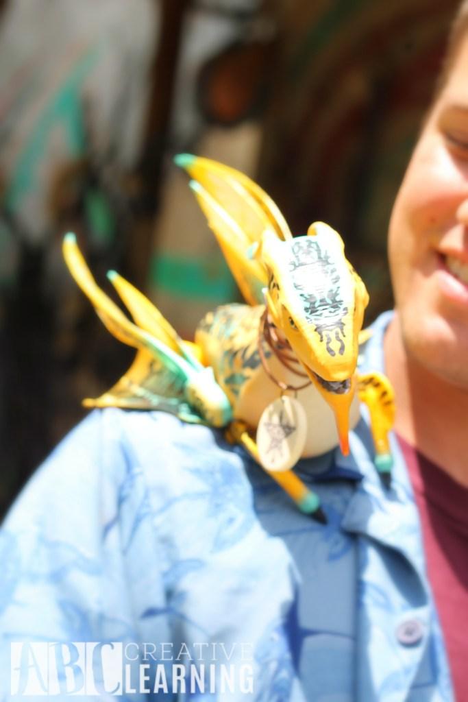 Pandora - World of Avatar at Disney's Animal Kingdom | 5 Things To Experience #VisitPandora Banshee Pet