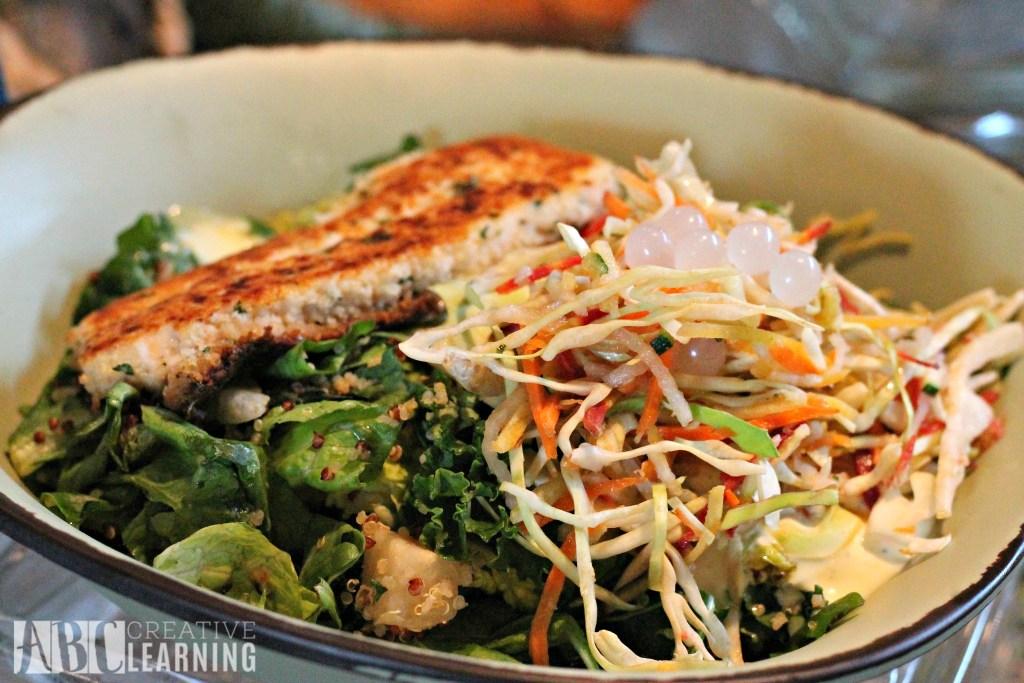 Pandora - World of Avatar at Disney's Animal Kingdom | 5 Things To Experience #VisitPandora Fish Bowl Salad